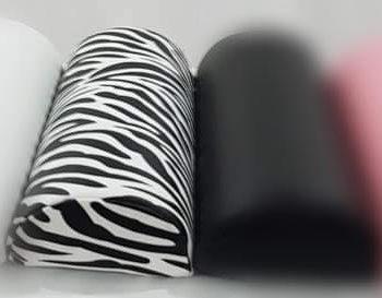 Zebra Armsteun voor Nagelstylistes