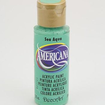 Nailart verf Americana, blauw, sea aqua