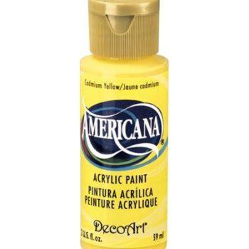 Nailart verf Americana, geel, cadmium yellow