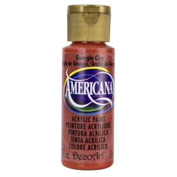 Nailart verf Americana, rood, Georgia clay