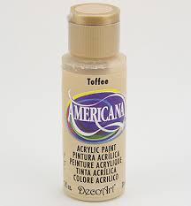 Nailart verf Americana, bruin, toffee