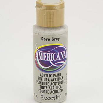 Nailart verf Americana, grijs, dove grey