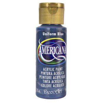 Nailart verf Americana, blauw, uniform blue