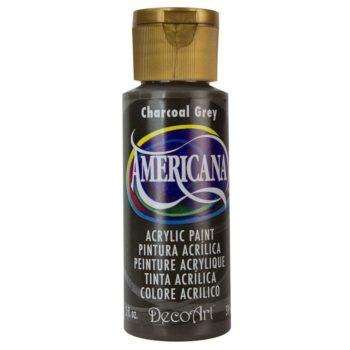 Nailart verf Americana, grijs, charcoal grey