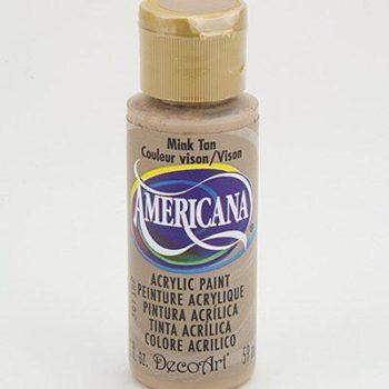Nailart verf Americana, bruin, mink tan