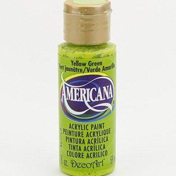 Nailart verf Americana, groen, yellow green