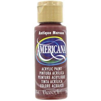 Nailart verf Americana, rood, antique maroon