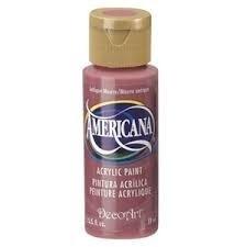 Nailart verf Americana, paars, antique mauve