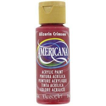 Nailart verf Americana, rood, alizarin crimson