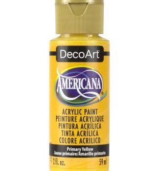 Nailart verf Americana, geel, primary yellow