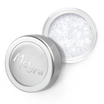 Moyra Glitter poeder, wit 1