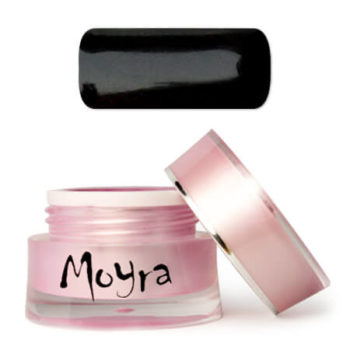 Moyra Nailart gel, zwart, devil
