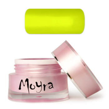 Moyra Nailart gel, geel, vivid yellow