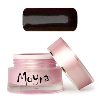 Moyra Nailart gel, zwart, shadow