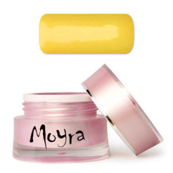 Moyra Nailart gel, geel, sunshine
