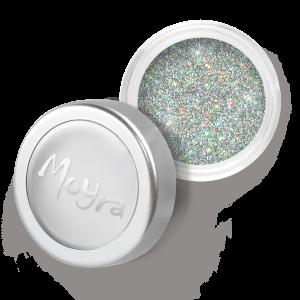 Moyra glitter poeder zilver