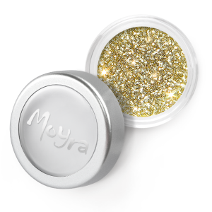 Moyra glitter poeder 05 geel goud