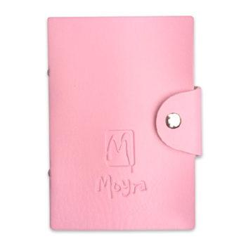 Moyra stempelplaat houder roze