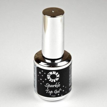 Sparkle Topcoat Silver - Urban Nails