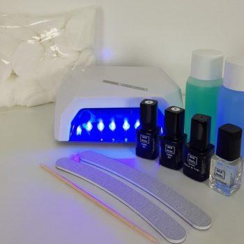 """Starterpakket Gellak set 4 """"UV/Led"""""""