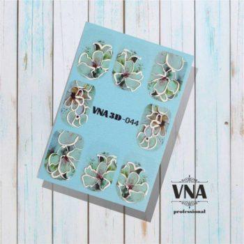 Vanilla Nail Art 3D 044