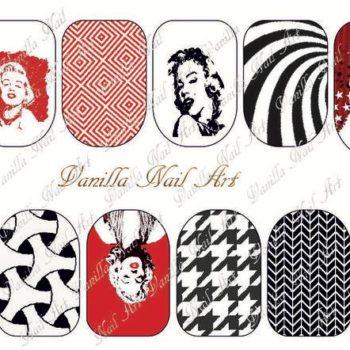 Vanilla Nail Art Slider A-024