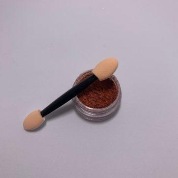 chroom pigment met kwastjes