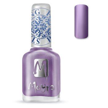 Stamping Nail Polish sp11 metal purple