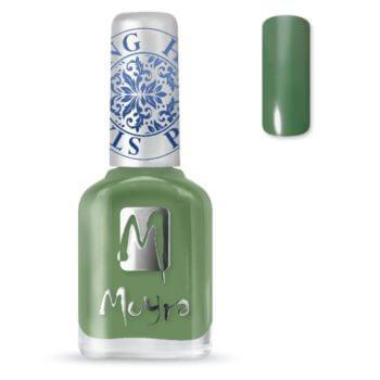 Stamping Nail Polish sp14 dark green