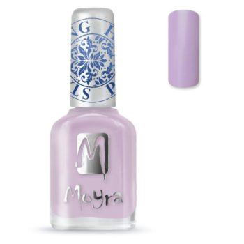Stamping Nail Polish sp16 light violet