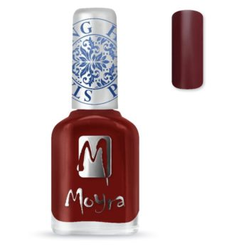 Stamping Nail Polish sp03 burgundy red