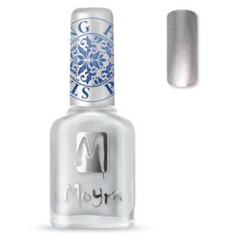 Stamping Nail Polish sp08 silver