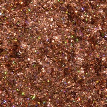 Urban Nails - Shattered Glass  12 oranje/ brons Glitters