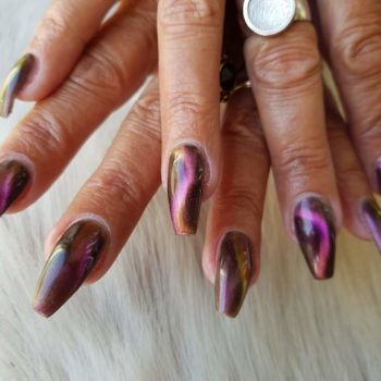Nail Art cat eye gelpolish nagel
