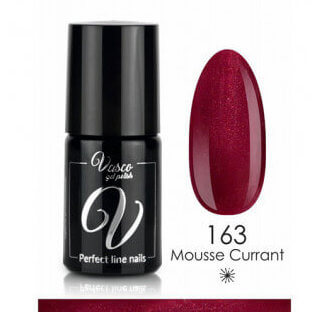 Vasco gelpolish V163 - Mousse Currant - Rood
